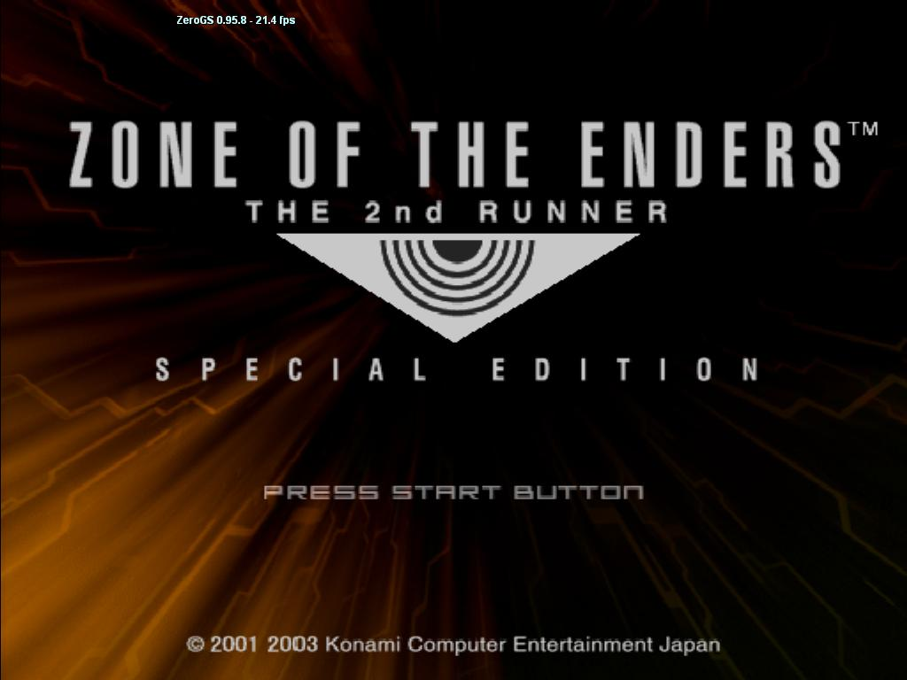 Zone of the Enders: The 2nd Runner - PCSX2 Wiki