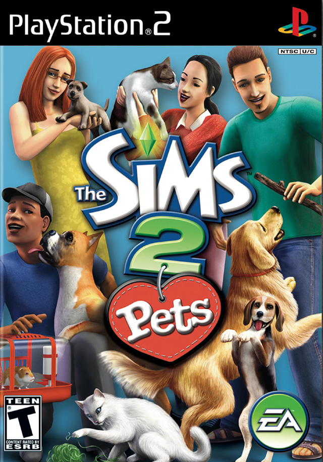 File:Cover The Sims 2 Pets jpg - PCSX2 Wiki