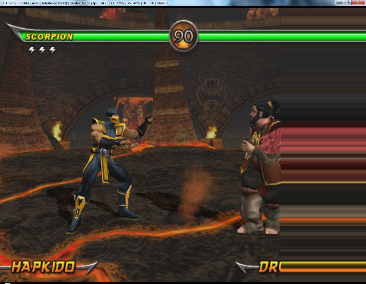 Mortal Kombat: Armageddon - PCSX2 Wiki