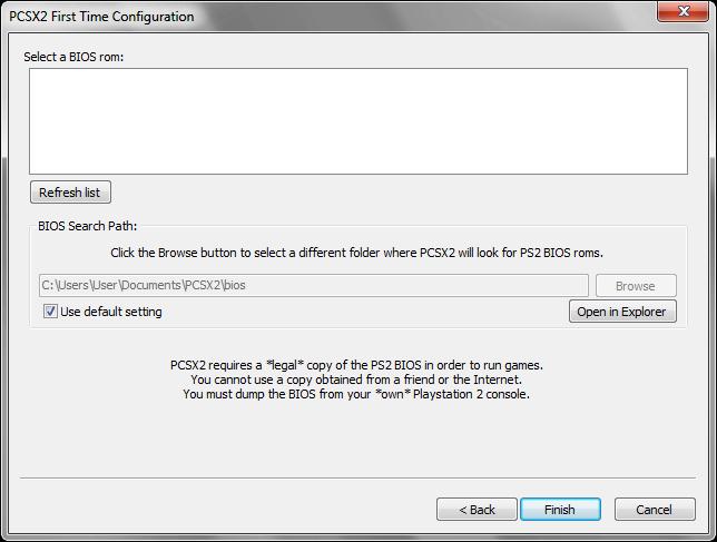 Setting up Windows version - PCSX2 Wiki