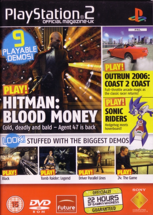 Official PlayStation 2 Magazine Demo 72 - PCSX2 Wiki