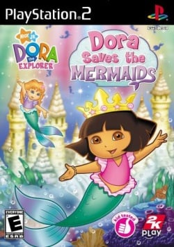 Cover Dora the Explorer Dora Saves the Mermaids.jpg