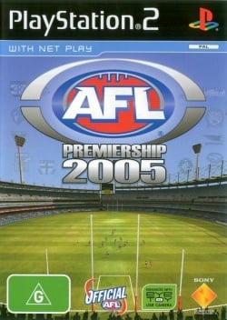 Cover AFL Premiership 2005 The Official Game of the AFL Premiership.jpg