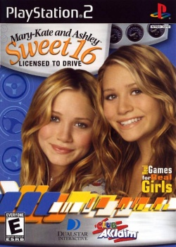Cover Mary-Kate and Ashley Sweet 16 - Licensed to Drive.jpg