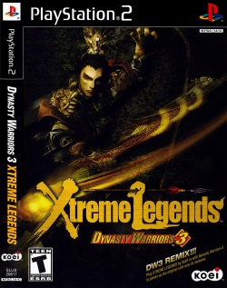 Cover Dynasty Warriors 3 Xtreme Legends.jpg