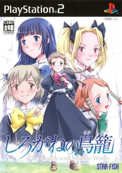 Cover Shirogane no Torikago The Angels with Strange Wings.jpg