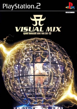 Cover Visual Mix Ayumi Hamasaki Dome Tour 2001.jpg